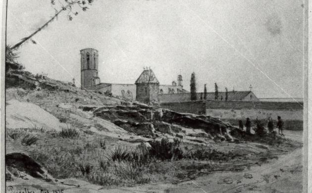 detall gravat segle XIX